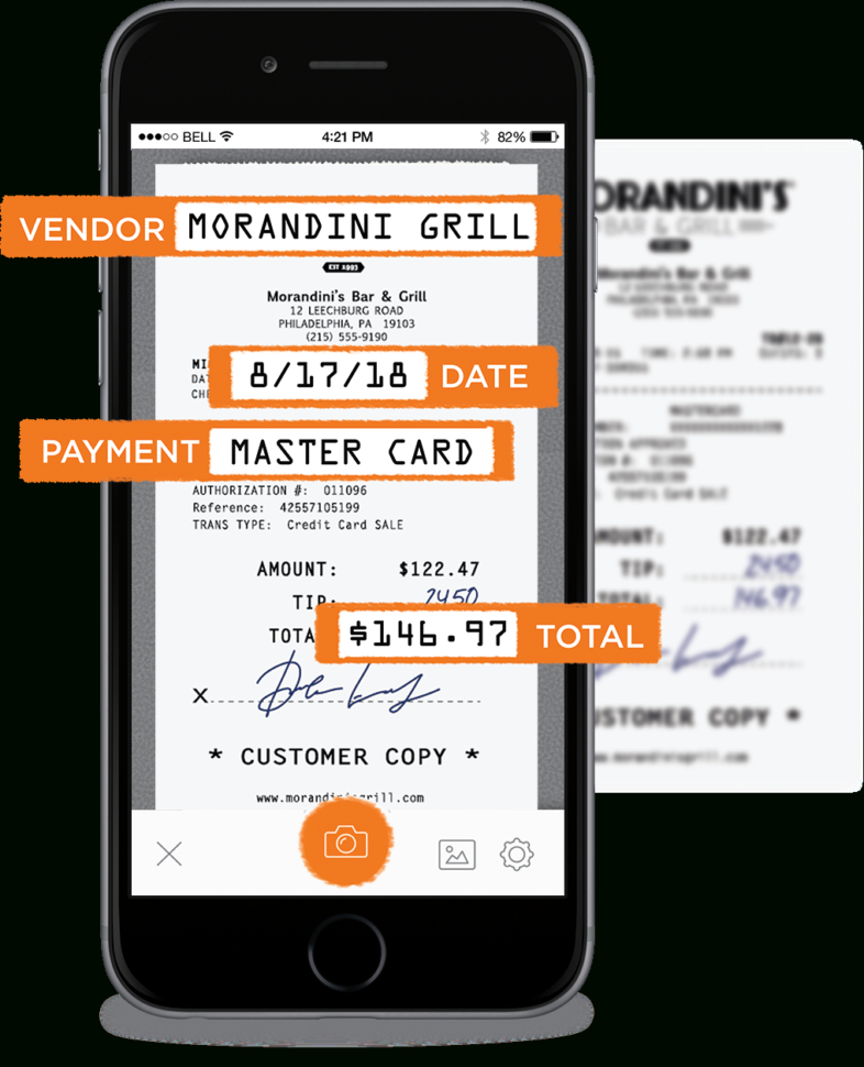 Scan Receipts Into Spreadsheet Regarding Receipt Scanning App  For Iphone And Android  The Neat Company