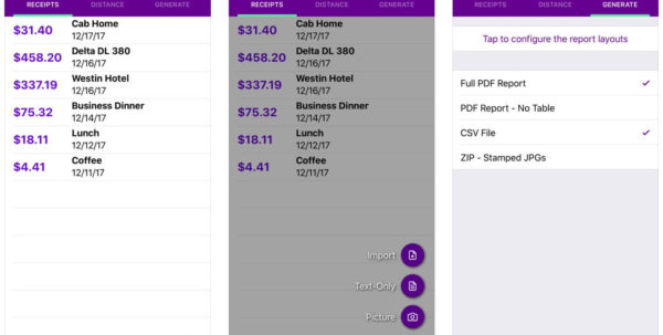 Scan Receipts Into Spreadsheet Throughout 10 Best Ios Apps To Scan, Track, And Manage Receipts  Iphonebyte