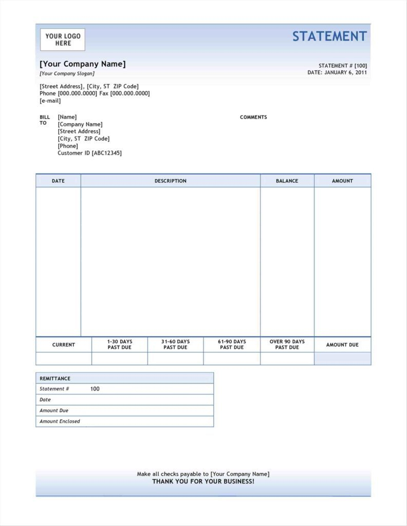 Scholarship Spreadsheet In Medical Billing Statement Template Free Sample Form Scholarship