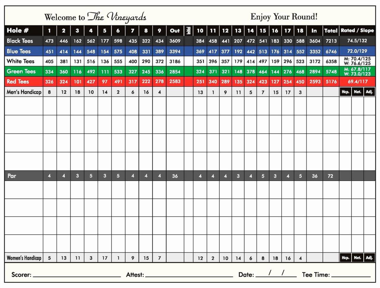 Score Spreadsheet For Golf Stat Tracker Spreadsheet Or Free Excel Golf Score Spreadsheet