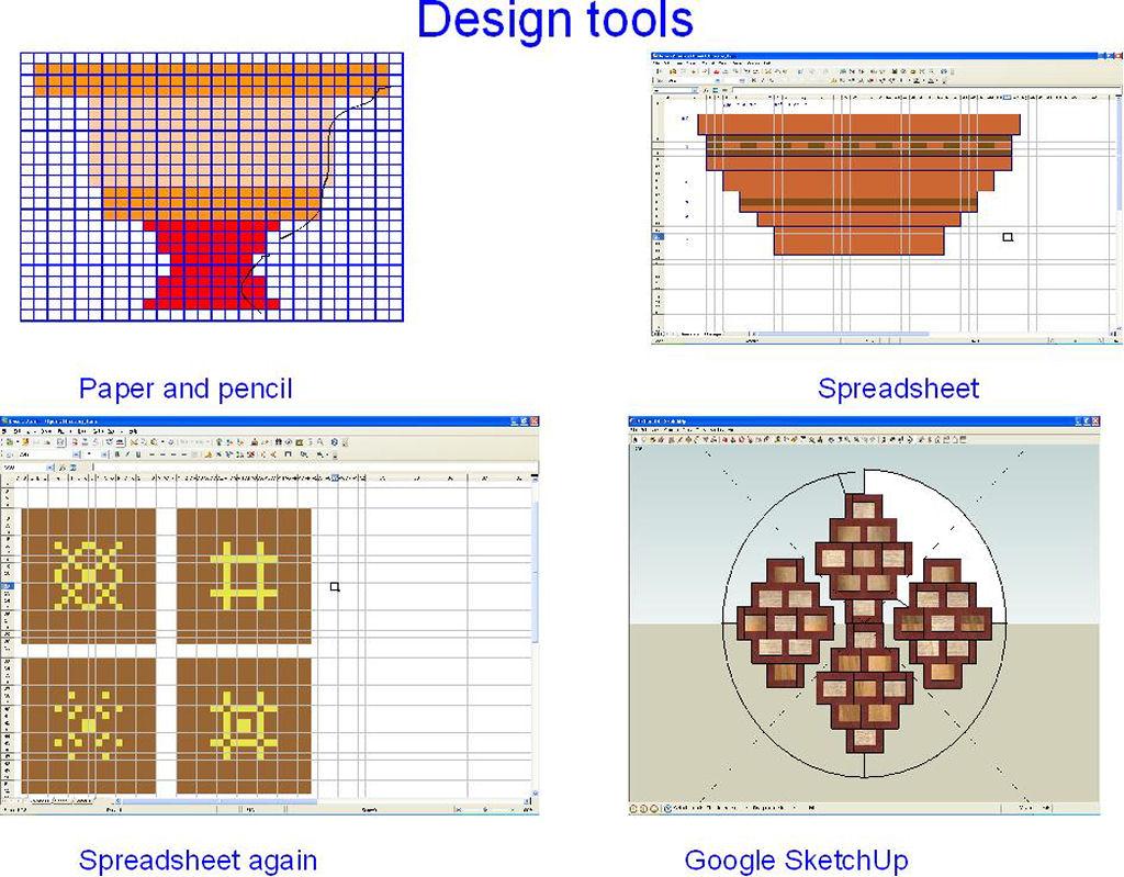 Segmented Turning Spreadsheet Inside Home Made Jigs