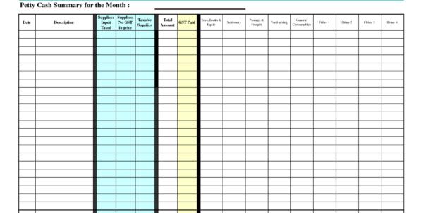 Self Employed Accounts Spreadsheet With Bookkeeping For Self Employed Spreadsheet And Petty Cash Spreadsheet