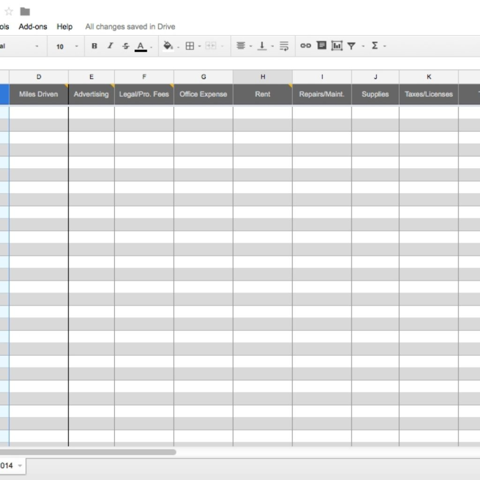 Self Employed Excel Spreadsheet With Regard To Bookkeeping For Self Employed Spreadsheet Excel Template