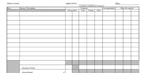 Self Employed Expense Spreadsheet In Expense Log Template Excel New 16 Elegant Self Employed Expenses