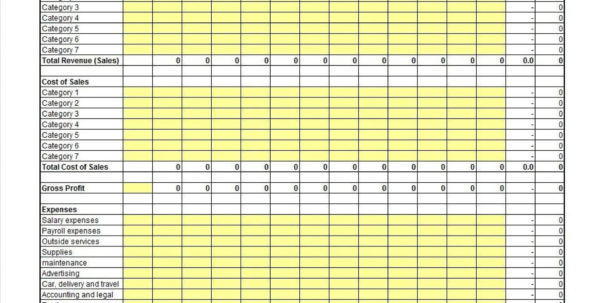 Self Employed Spreadsheet For Accounting Free Regarding 006 Template Ideas Profit And Loss Free ~ Ulyssesroom