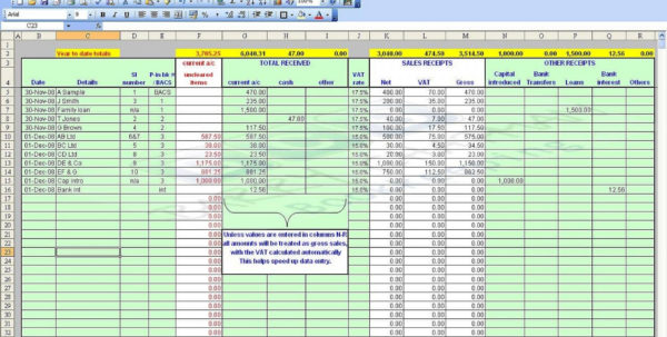 Self Employed Spreadsheet Inside 016 Template Ideas Microsoft Excel Accounting Templates Download