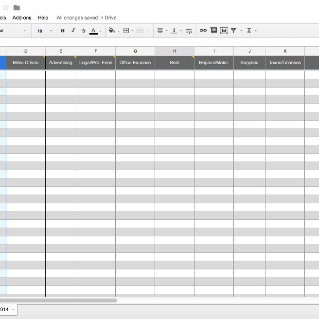 Self Employed Spreadsheet Intended For Bookkeeping For Self Employed Spreadsheet Excel Template