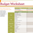 Setting Up A Personal Budget Spreadsheet Regarding Example Of Setting Up Household Budget Spreadsheet Usefults That Are