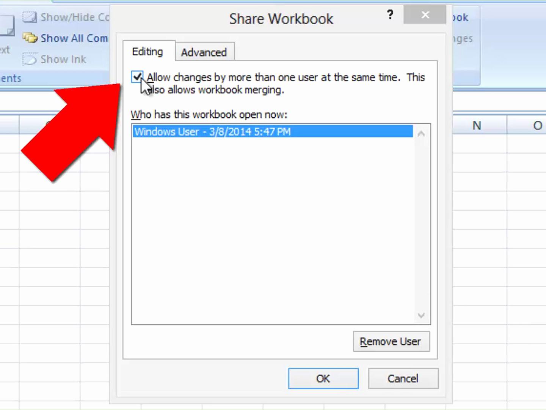 Share Excel Spreadsheet Intended For Share Excel Spreadsheet For How To Unshare An Excel Workbook 5 Steps