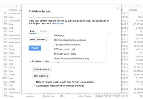 Share Google Spreadsheet For Integrate Phpgrid With Google Spreadsheets  Phpgrid  Php Datagrid