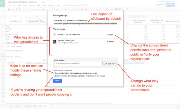 Share Google Spreadsheet Inside Google Sheets 101: The Beginner's Guide To Online Spreadsheets  The
