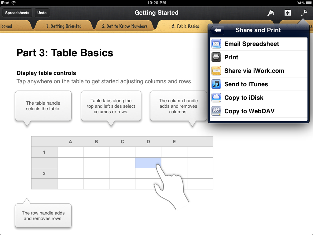 Share Numbers Spreadsheet With Numbers For Iphone And Ipad Review  Imore