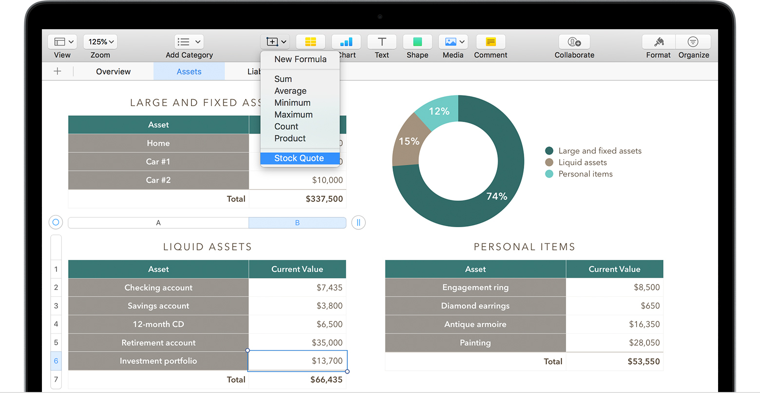 Share Numbers Spreadsheet Within Add Current Stock Quotes And Currency Exchange Rates Into Your