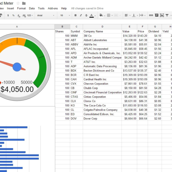 Share Tracking Spreadsheet Inside How To Create A Dividend Tracker Spreadsheet  Dividend Meter Within