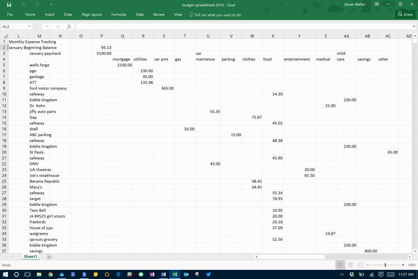 Shared Spreadsheet Throughout Excel Expenses Template Uk Shared Spreadsheet Yelomphone Sample