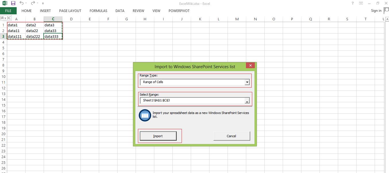 Sharepoint Spreadsheet Pertaining To Data Import From Excel Spreadsheet To Sharepoint List – Plexhosted