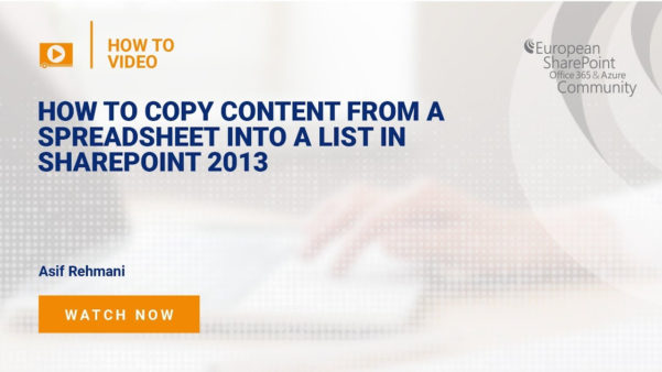 Sharepoint Spreadsheet With How To Copy Content From A Spreadsheet Into A List In Sharepoint