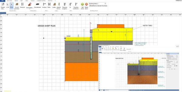 Sheet Pile Design Spreadsheet Throughout Sheet Pile Wall Design Spreadsheet  Awal Mula