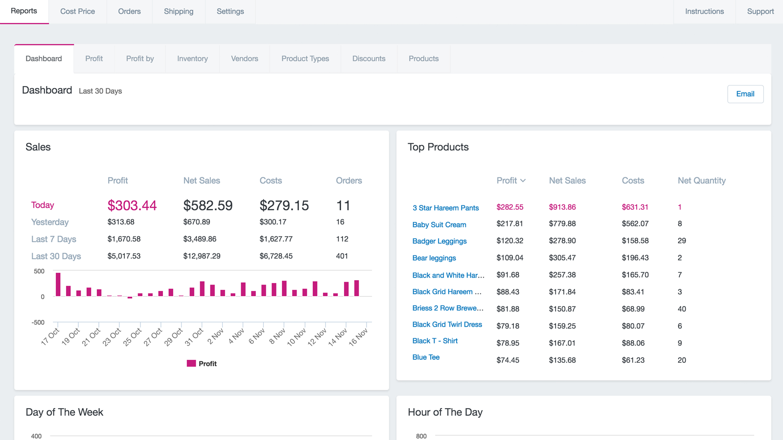Shopify Spreadsheet With Delirious Profit – Ecommerce Plugins For Online Stores – Shopify App