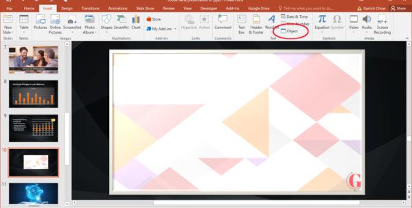 Show Me A Spreadsheet Inside How To Embed A Linked Excel File Into Powerpoint