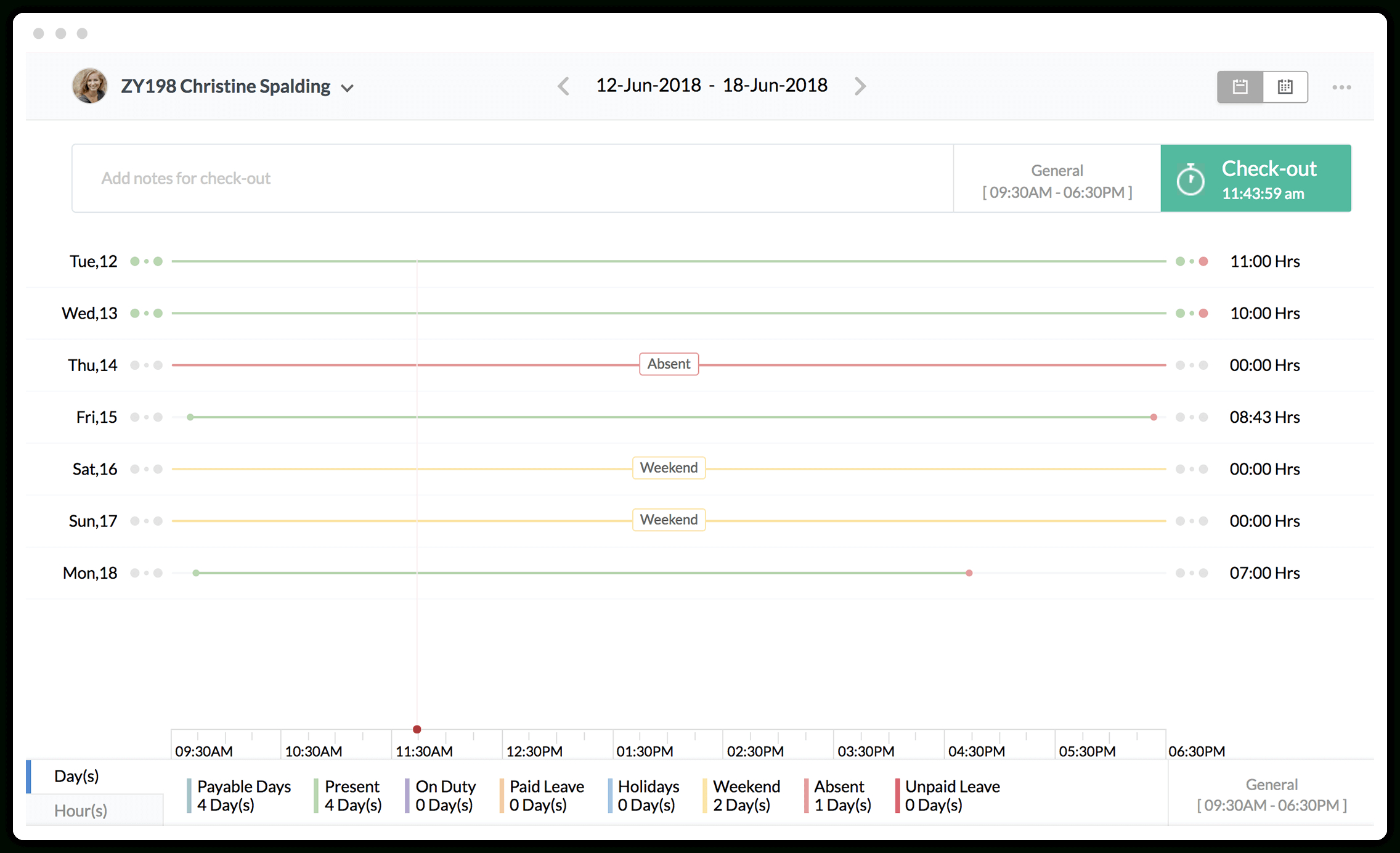 Sickness Absence Monitoring Spreadsheet With Regard To Attendance Management System  Employee Attendance Tracker  Zoho People