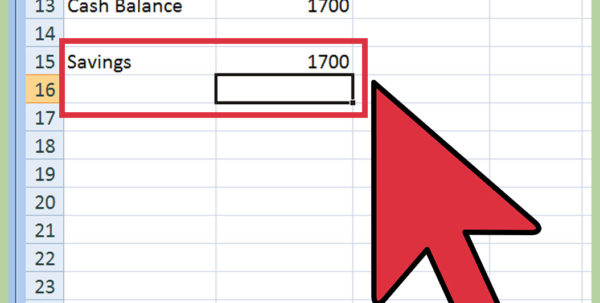 Simple Budget Spreadsheet Excel Inside How To Create A Budget Spreadsheet: 15 Steps With Pictures