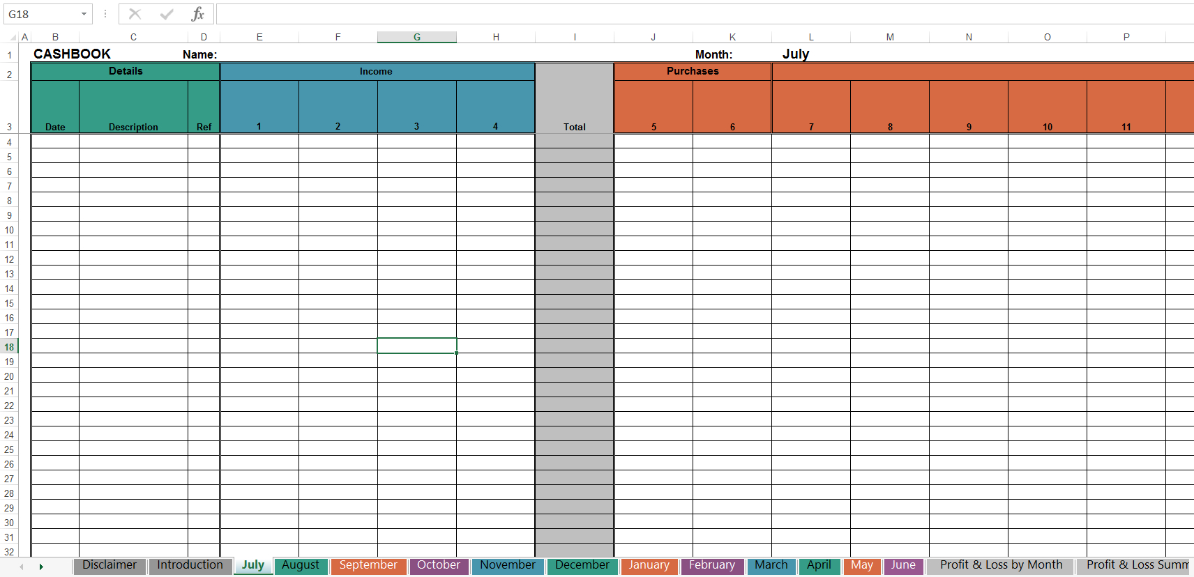 Simple Cash Book Spreadsheet Intended For Free Cashbook Online Tax Solutions