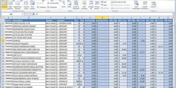 Simple Excel Spreadsheet For Small Business Inside Small Businessses Spreadsheet Monthly Income And Free Excel For