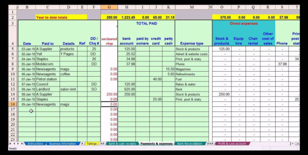 Simple Excel Spreadsheet For Small Business Intended For Spreadsheets For Small Business Accounting Spreadsheet Lovely Free