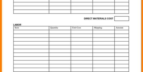 Simple Job Costing Spreadsheet For Construction Job Cost Excelt And Free For Simple Costing  Askoverflow