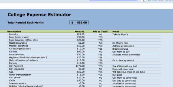 Simple Personal Budget Spreadsheet Intended For 15 Easytouse Budget Templates  Gobankingrates