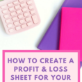 Simple Spreadsheet For Self Employed Inside 026 Template Ideas Profit Loss Spreadsheet For Self Employed And