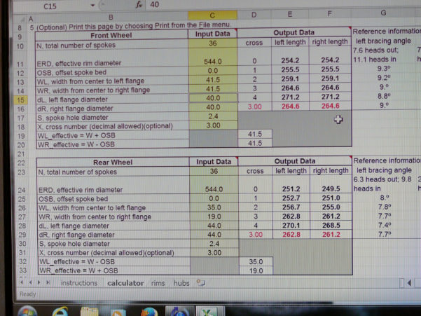 Simplex D Account Book Spreadsheet For Wheel Building  Restoring Vintage Bicycles From The Hand Built Era