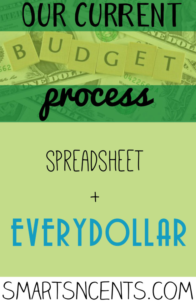 Sinking Fund Excel Spreadsheet Inside Our Current Budgeting Process: Customized Spreadsheet   Everydollar
