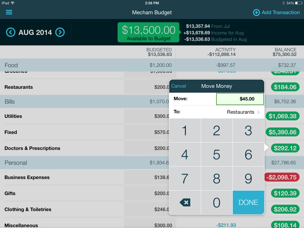 Sinking Fund Excel Spreadsheet Regarding The Best Budgeting App: A Ynab Review