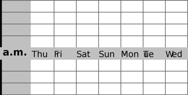Sleep Tracking Spreadsheet For Sleep Diary  Wikipedia