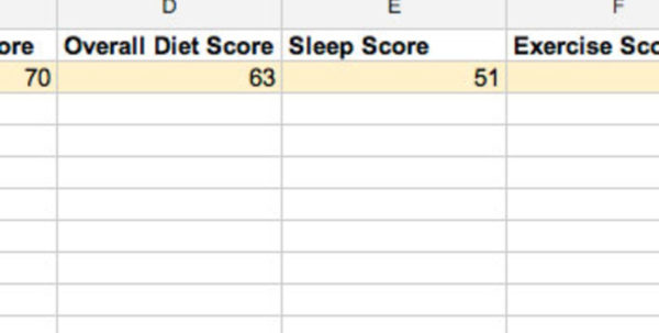 Sleep Tracking Spreadsheet Inside Fill Out This Oneminute Form Every Day And Find Out Why Your Life