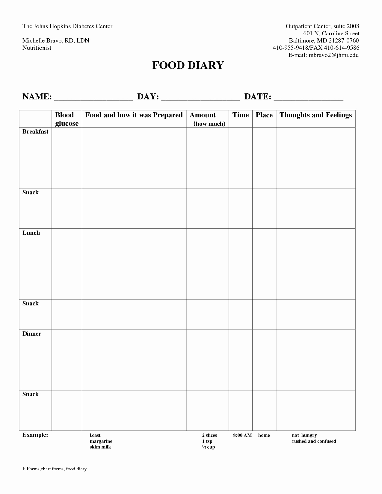 Slimming World Food Diary Spreadsheet For Diabetic Food Journal Template Gotta Yotti Co Diary Excel Daily