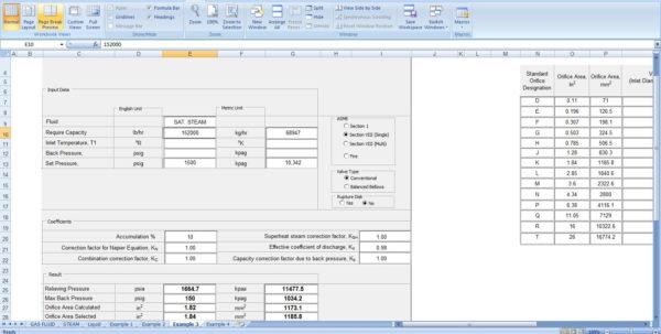 Slug Catcher Sizing Spreadsheet Within Kolmetz  Guidelines