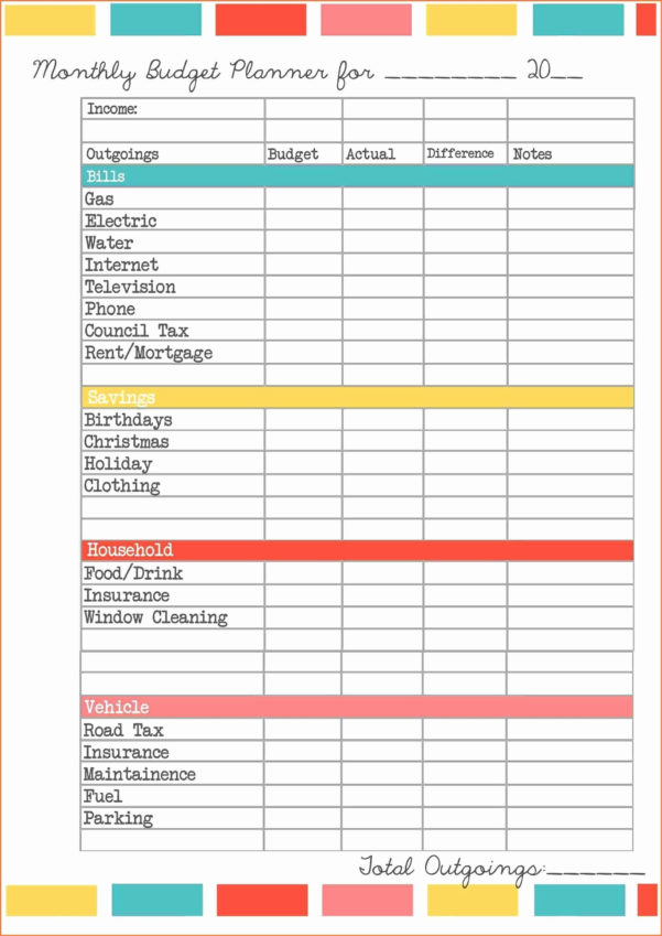 Small Business Budget Spreadsheet Excel Inside Free Business Expense Tracker Template Spreadsheet Excel Budget