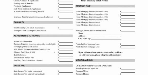 Small Business Tax Preparation Spreadsheet Throughout Small Business Tax Deductions Worksheet New Worksheet Accounting