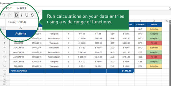 Smart Spreadsheet Pertaining To Spreadsheets For Confluence  Atlassian Marketplace