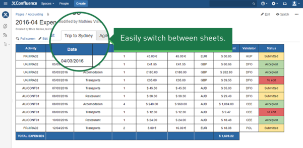 Smart Spreadsheet With Spreadsheets For Confluence  Atlassian Marketplace