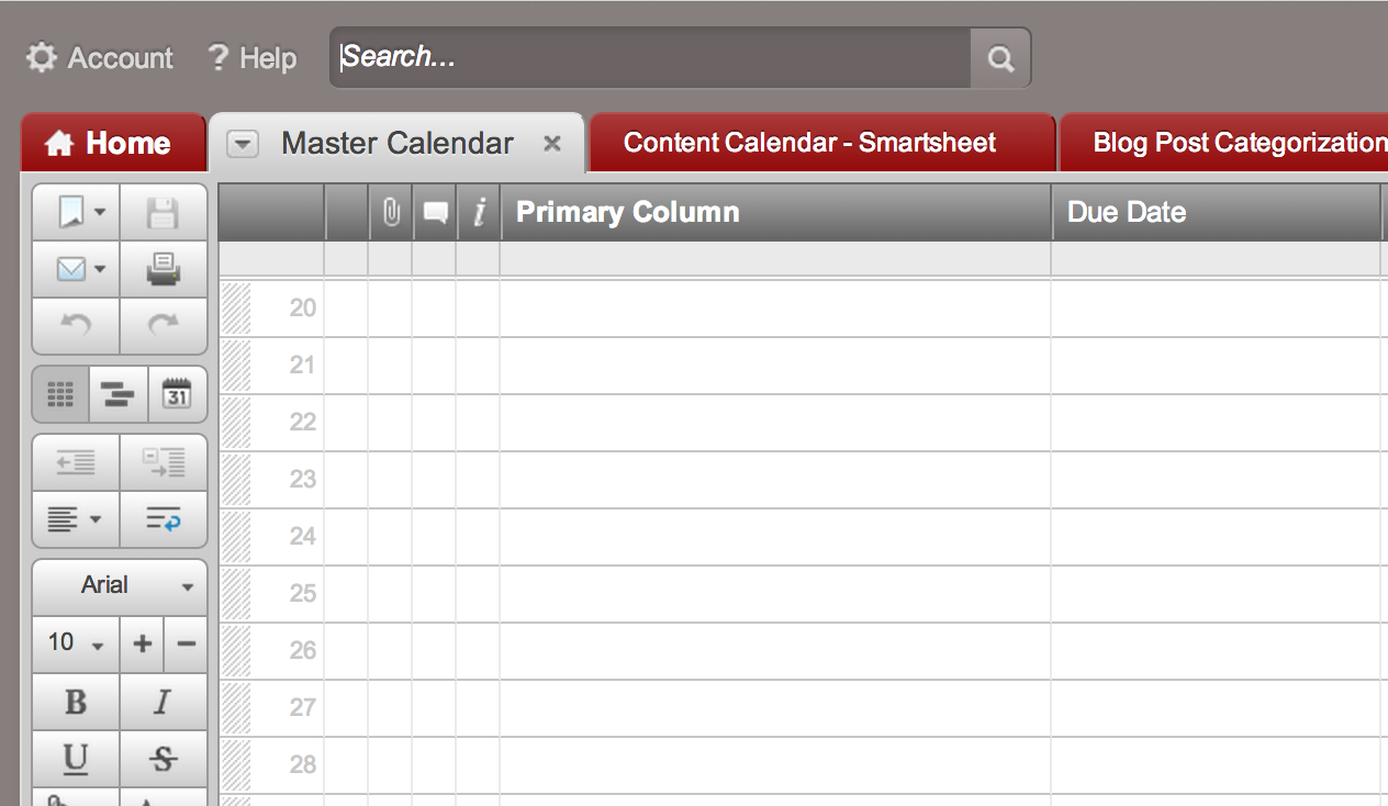 Smartsheet Spreadsheet In Tip: Create A Calendar Dashboard In 7 Quick Steps  Smartsheet