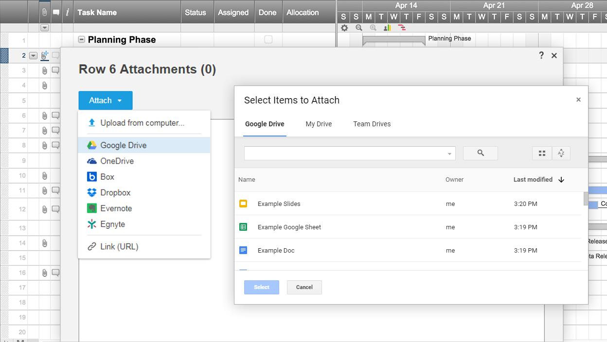 Smartsheet Spreadsheet Iphone Throughout Google Drive  Smartsheet