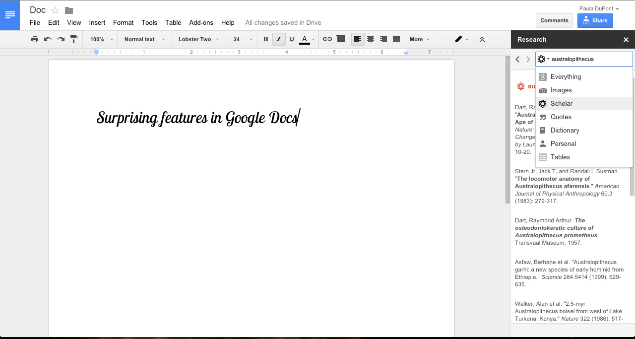 Sms To Google Spreadsheet For 40  Google Docs Tips To Become A Power User