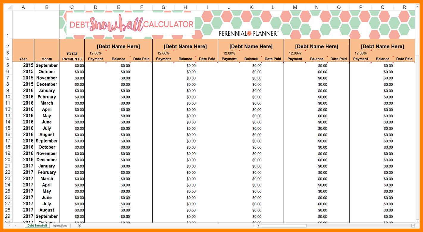 Snowball Spreadsheet In 11  How To Make A Debt Snowball Spreadsheet  Credit Spreadsheet