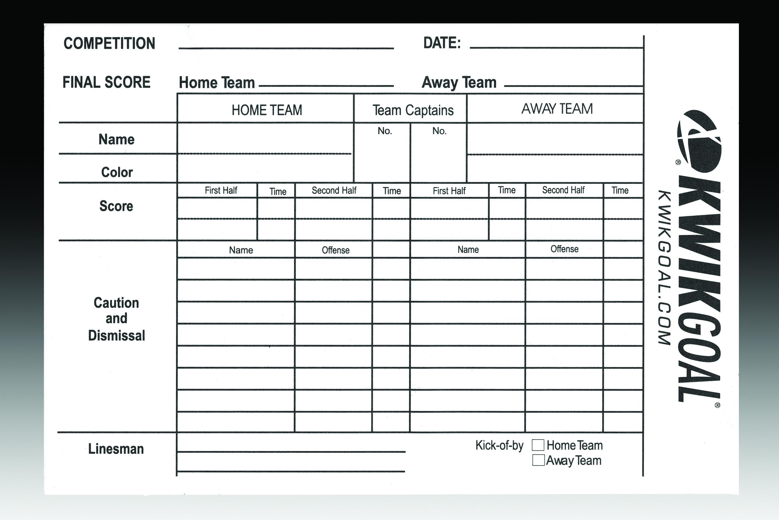 Soccer Stats Spreadsheet Inside Printable Soccer Scorebook  Room Design In Your Home •