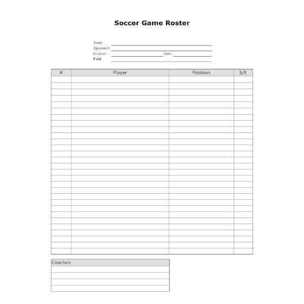 Soccer Stats Spreadsheet Pertaining To Soccer Team Stats Sheet Soccer Roster Template  Xors3D Template 2018