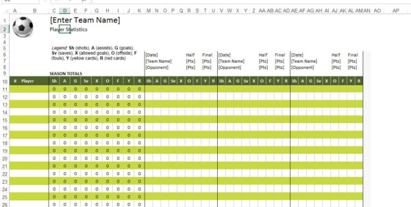 Soccer Stats Spreadsheet Pertaining To Statistics Excel Templates Otokv New Petitive Call Of Duty Stats